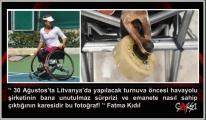 Engelli Sporcu'ya Bir Engel de Onur Air'den