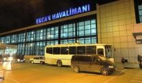 Ercan'dan 20 bin 930 dolarla çıkmaya çalıştı