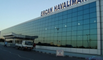 Ercan Havalimanı'nda polisle işçiler arasında arbede