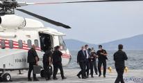 Başkan Erdoğan Demokrasi ve Özgürlükler Adası'na geldi