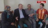 Erdoğan'ı Galatasaray Forması Giyerek Karşıladı