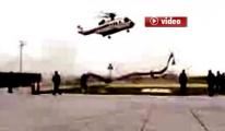Erdoğan'ın helikopteri ilk turda alana inemedi