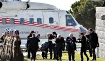 Erdoğan'ın Helikopteri Kurtulmuşları Uçuruyordu