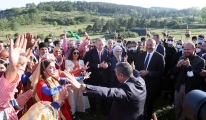 Erdoğan, Şuşa'da Cıdır Ovası şenliklerine katıldı#video