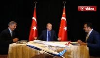 Erdoğan, THY ve Boeing Aynı Masada video