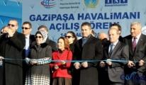 Erdoğan,Gazipaşa'ya uçak seferini arttırın