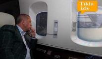 Erdoğan,Rize-Artvin Havalimanı inşaatını havadan inceledi