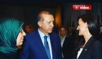 Erdoğan,THY Kabin Memuru Sinem Aydemir'i Tebrik etti