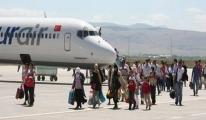 Erzurum'da Havayolu Kulanımı Arttı