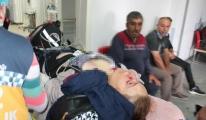 Eşinin vurduğu Firdevs, yaşam mücadelesi veriyor