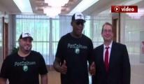 Eski NBA yıldızı Rodman, Kuzey Kore'de (video)
