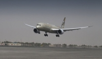 Etihad, Lüks Uçağı Dreamliner İle Şanghay'a Uçtu