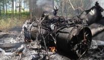 F-16 İle Özel Jet Çarpıştı