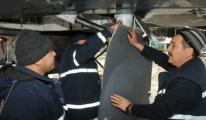 F4 savaş uçağı Tarsus'ta
