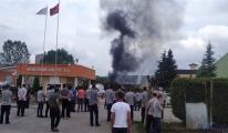 Fabrika kazan dairesinde patlama: 2 işçi yaralı