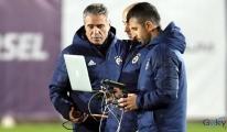 Fenerbahçe'de drone'lu antrenman