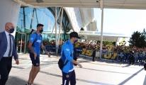 Fenerbahçe kafilesi, Hatay'da #video