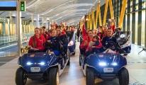 Filenin Sultanları İstanbul Havalimanı'nda