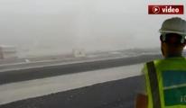 FLAŞ FLAŞ Çalışanlar 3. Havalimanı'nı Sisten Bulamadı!