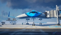 Flying-V yolcularını kanatta taşıyacak!