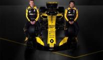 Formula 1'de Yarışacağı Yeni Aracını Tanıttı