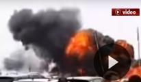 Fransa'da uçak düştü! video