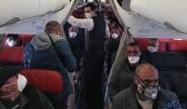 Fransa'dan gelen uçak Esenboğa Havalimanı'na indi