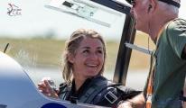 Fransız pilotlar akrobaside bir numara