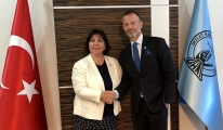 Funda Ocak Ankara'da Jankovec'i ağırladı