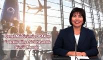 Funda Ocak'ın 7 Aralık Dünya Sivil Havacılık Günü Mesajı