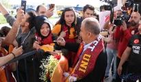 Galatasaray'a Sivas'ta coşkulu karşılama