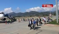 Galatasaray, Gazipaşa-Alanya Havalimanı'nda