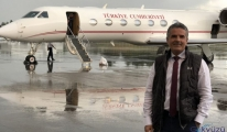 Gazeteci Hakan Çelik'e uçak tepkisi!
