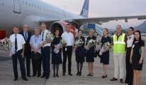 Gazipaşa-Alanya İlk Airbus A321'i Karşıladı