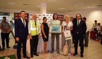Gazipaşa'da 1 milyonuncu yolcu Belçikalı çift oldu!