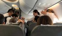 Genel Müdür uçakta hayat kurtardı