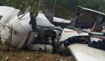 Gine'de küçük uçak düştü: 4 ölü