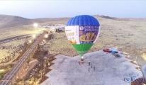 Göbeklitepe'de ilk balon havalandı