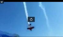 Gösteri Uçağı Yere Çakıldı !