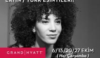 Grand Hyatt İstanbul The Library Lounge'da Latin Rüzgarı