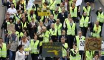 Grevler Lufthansa'yı Sarstı