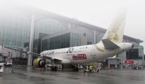 #İstanbul - Bahreyn uçuşları yeniden başladı(video)