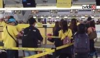 Gümrük görevlileri şok oldu!video