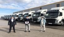 Güneş Hafriyat, filosuna 15 adet Volvo FM çekici yatırım