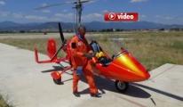 Gyrocopter İle İlk Kktc Seyrüseferi Başladı video