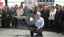Atatürk Havalimanı'nda Hacı Adayları Dualarla Uğurlandı video
