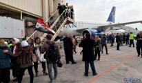 Halep Havalimanı ilk sivil uçağı ağırladı