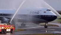 Harika bir iniş. Elveda BA 747. Bir devrin sonu(video)