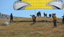 Yamaç Paraşütü Yapanların Hasan Dağı İlgi Odağı Oldu video