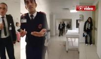 Hastayı Sedyeden Düşürdüler! video